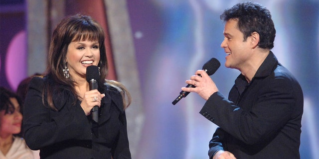 Marie Osmond said she started Nutrisystem a month before appearing on 'Dancing with the Stars.'