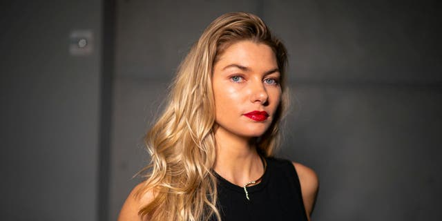 """Austrailian model Jessica Hart said she was inspired to name her first-born daughter Baby-Rae after the movie """"Dirty Dancing."""" (Gotham/Getty Images)"""