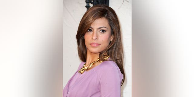 "Eva Mendes directly denied a plastic surgery accusation that was doled out by an Instagram user who suggested she took a social media hiatus because she had ""work done."" (Frazer Harrison/Getty Images)"