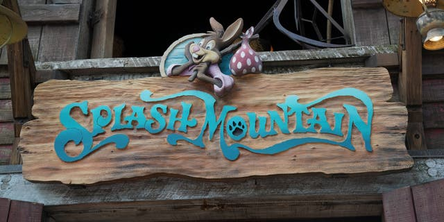 "The ""Splash Mountain"" rides at Disney theme parks will be re-marked with ""The Princess and the Frog,"" a movie with the company's first black princess."