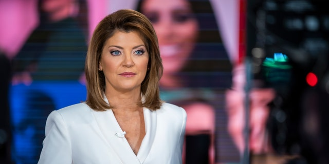 NEW YORK - OCTOBER 28: CBS Evening News with Norah O'Donnell broadcasting live from Times Square with Election2020 coverage. (Photo by Adam Verdugo/CBS via Getty Images)