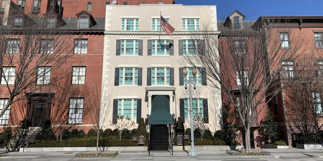 Blair House, the president's guest house, was seen on January 14, 2021 (Getty Images)