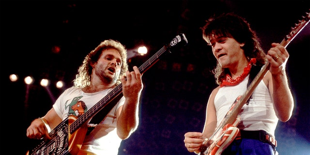 Michael Anthony (왼쪽) admitted he never had the chance to reconcile with former bandmate Eddie Van Halen.