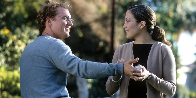 Jennifer Lopez and Matthew McConaughey celebrate 20th anniversary of 'The Wedding Planner'