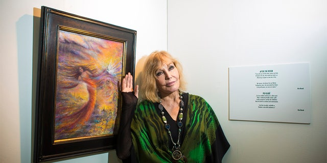 Kim Novak currently resides in Oregon surrounded by nature, her animals and art.