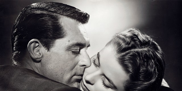"""The longest screen kiss in motion picture history was exchanged between Cary Grant and Ingrid Bergman in the film """"Notorious"""", directed by Alfred Hitchcock."""