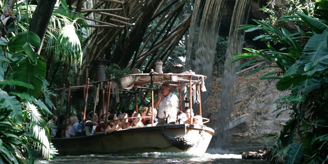 The original Jungle Cruise ride first opened at Disneyland in 1955.
