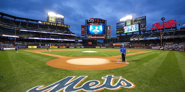 Citi Field is pictured prior to the second game of a day-night doubleheader between the Washington Nationals and the New York Mets at Citi Field in Flushing, NY on October 3, 2015. (Photo by Joshua Sarner/Icon Sportswire) (Photo by Joshua Sarner/Icon Sportswire/Corbis/Icon Sportswire via Getty Images)