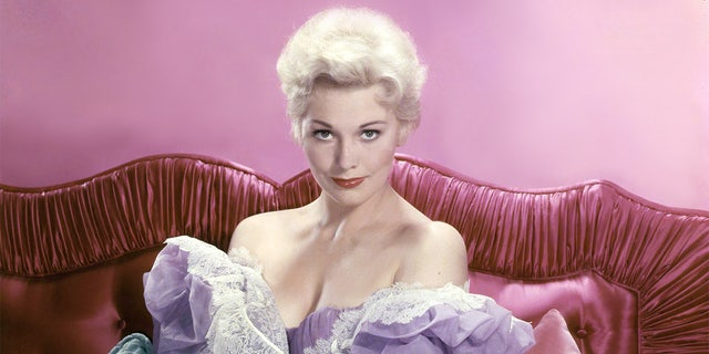 Kim Novak, an Alfred Hitchcock muse, appeared alongside Frank Sinatra, James Stewart and William Holden, among others.