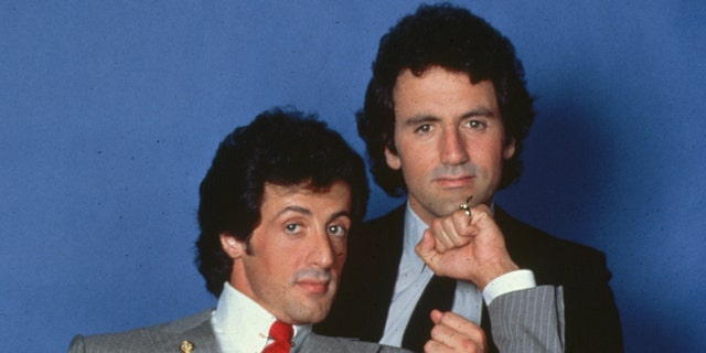When it came to 'Rocky,' Sylvester Stallone (left) made his brother Frank Stallone (right) an offer he couldn't refuse.