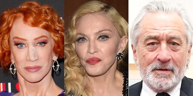 Kathy Griffin, Madonna and Robert De Niro were mentioned by name during Trump's second impeachment hearings.
