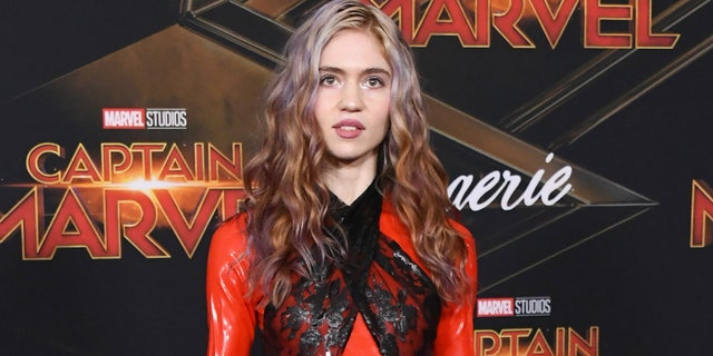 Grimes revealed that she has the coronavirus.