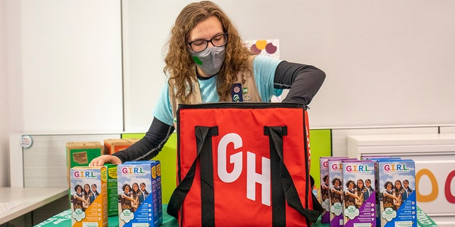 The Girl Scouts said that the members themselves will be heavily involved in the behind-the-scenes processes to fulfill Grubhub orders.