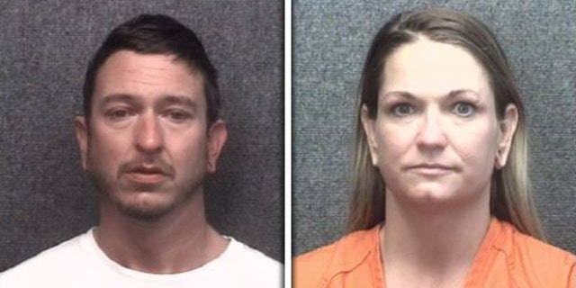 Eric and Lori Harmon, 都 36, were arrested again on charges of indecent exposure Tuesday.
