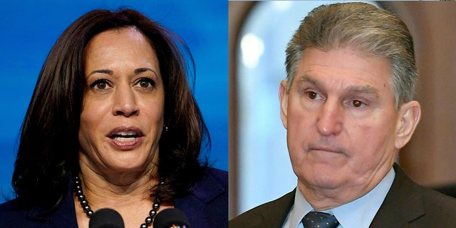 Vice President Kamala Harris' appearance on local TV in West Virginia didn't sit well with U.S. Sen. Joe Manchin, D-W.Va.