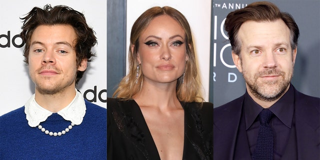 Olivia Wilde entered a relationship with former One Direction singer Harry Styles (L) following her split from Jason Sudeikis (R).