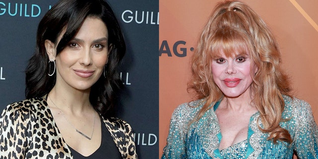 Charo (R) reacted to Hilaria Baldwin (L) Spanish heritage scandal.