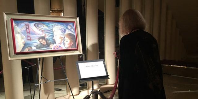 Kim Novak has never forgotten her first love - painting.
