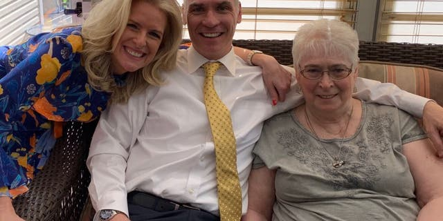 Janice Dean, husband Sean Newman and mother-in-law Dee Newman