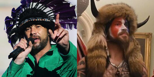 Jamiroquai lead singer Jay Kay had to clarify that he was not among those at the Capitol riot.