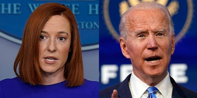 White House press secretary Jen Psaki and President Biden both criticized actions in Syria that were taken by former President Donald Trump.