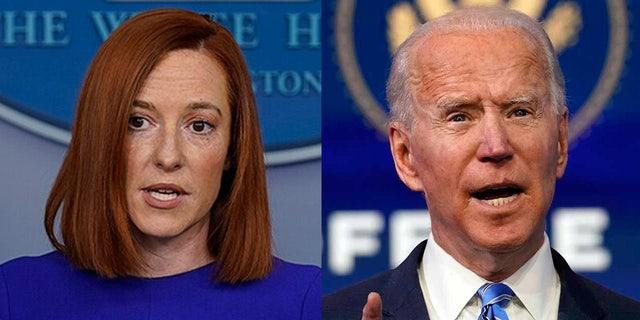 White House press secretary Jen Psaki and President Biden criticized the actions in Syria taken by former President Donald Trump.