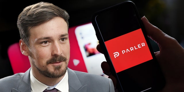 """Parler chief executive officer John Matze is """"confident"""" that his social media platform will be back online in the near future after his team was able to launch a static website and recover the company's data over the weekend."""