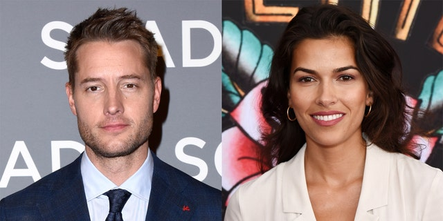 Justin Hartley is now Instagram official with his girlfriend, actress Sofia Pernas.
