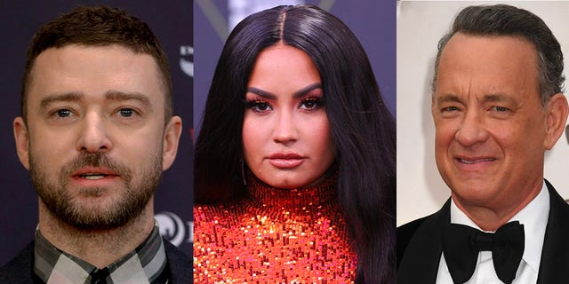 Justin Timberlake, Demi Lovato and Tom Hanks will participate in the primtime special 'Celebrating America' on Wednessday night,.
