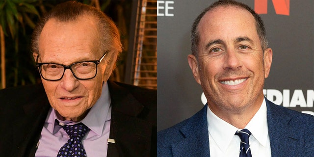 Jerry Seinfeld turned to his disgracefully awkward interview with Larry King.