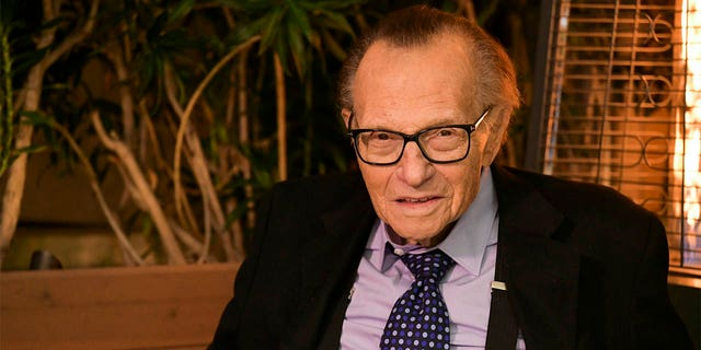 Larry King did not die of the coronavirus despite previously being hospitalized for contracting it, his wife, Shawn King, said.