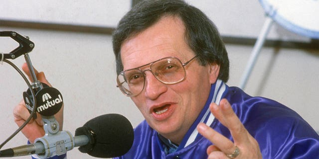 """The host of CNN's """"Larry King Live"""" and a broadcast pioneer, died Saturday at Cedars-Sinai Medical Center in Los Angeles, his production company Ora Media announced."""