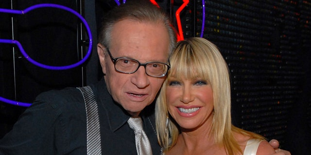 Suzanne Somers said that Larry King was full of 'pure curiousity.' (Photo by Michael Caulfield/WireImage)