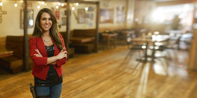 rappresentante. Lauren Boebert, R-Colo., owns a gun-themed restaurant in Rifle, Colorado and is now co-chair of a Second Amendment caucus in Congress.