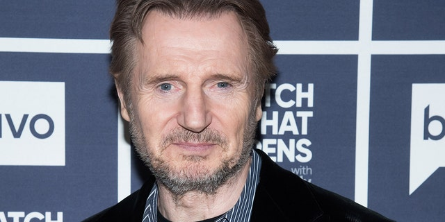 Liam Neeson denied rumors that he'll reprise his role in the upcoming 'Star Wars' series for Disney+.