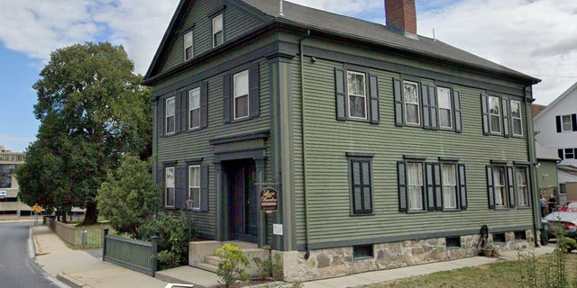 The Lizzie Borden Bed and Breakfast/Museum Fall River house at 230 Second St. in Fall River, Mass.