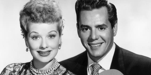 The Aaron Sorkin-helmed flick will follow a week in the production of 'I Love Lucy' in the 1950s. The show starred Lucille Ball (links) and Desi Arnaz (reg). (Photo by CBS Photo Archive/Getty Images)