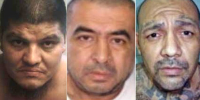 On Thursday, the Justice Department announced 14 gang leaders were charged with terrorism offenses. MS-13 leaders Cesar Humberto Lopez-Larios, Hugo Armando Quinteros-Mineros and Freddy Ivan Jandres-Parada remain at large. The rest are imprisoned in El Salvador.