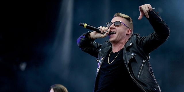 Macklemore went to rehab in 2008. (Photo by Isaac Brekken/Getty Images for iHeartMedia)
