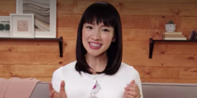 "Marie Kondo, story of ""Tidying Up With Marie Kondo,"" on Netflix."