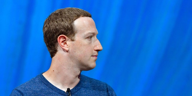 Facebook's CEO Mark Zuckerberg looks on during the VivaTech (Viva Technology) trade fair in Paris, on May 24, 2018. (Photo credit should read GERARD JULIEN/AFP via Getty Images)
