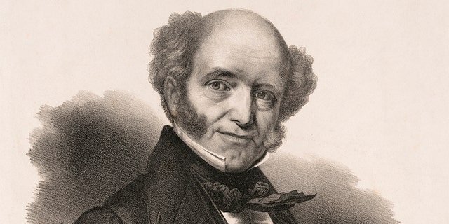 Martin Van Buren, President of the United States, Published by Chs Fenderich, Washington City, Printed by PS Duval, Philadelphia, 1839. (Photo by: GHI Vintage/Universal History Archive/Universal Images Group via Getty Images)