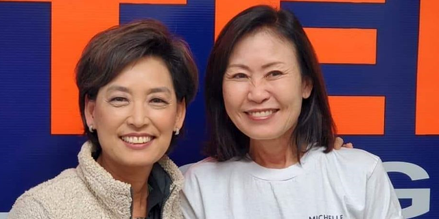 Reps.-elect Young Kim (L) and Michelle Steel (R) will be among the first Korean-American women elected to Congress. They are both California Republicans who beat House Democratic incumbents in November 2020.