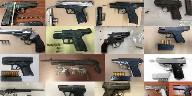 The NYPD has made 417 firearm arrests this year