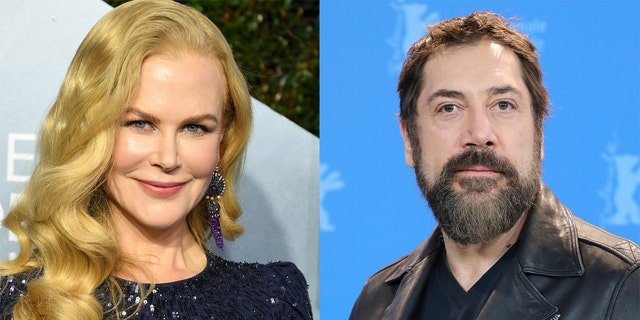 Nicole Kidman (left) with play Lucille Ball while Javier Bardem (right) will play Desi Arnaz in the upcoming movie 'Being the Ricardos.'