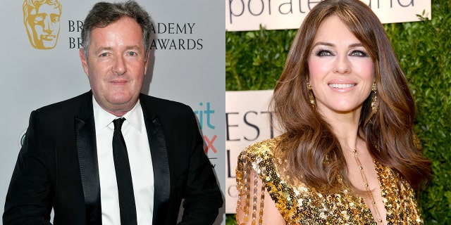 PiersMorgan ElizabethHurley Getty Elizabeth Hurley 55 reveals another throwback bikini snap Cheer yourself up in these miserable times 8211 Fox News