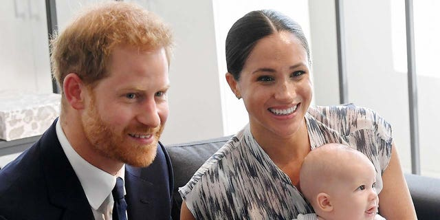 Prince Harry and Megan Markle now live in Southern California with their son Archie.  (Photo by Toby Melville - Pool / Getty Images)