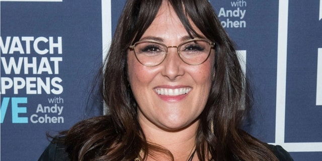Ricki Lake gushed over her new fiance, revealing she was 'naked in the jacuzzi' when they became engaged.