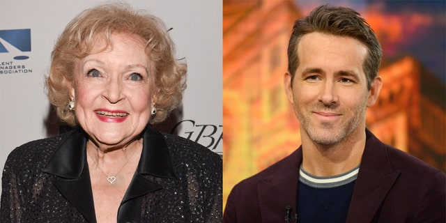 Betty White (left) and Ryan Reynolds (right) had a playful fake feud on the set of 'The Proposal.'