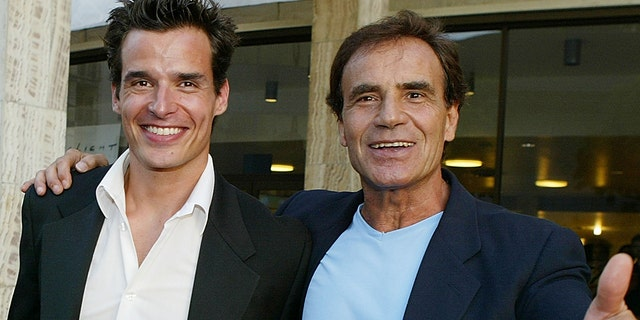 Antonio Sabato Jr. announced news of his father's death on Instagram.